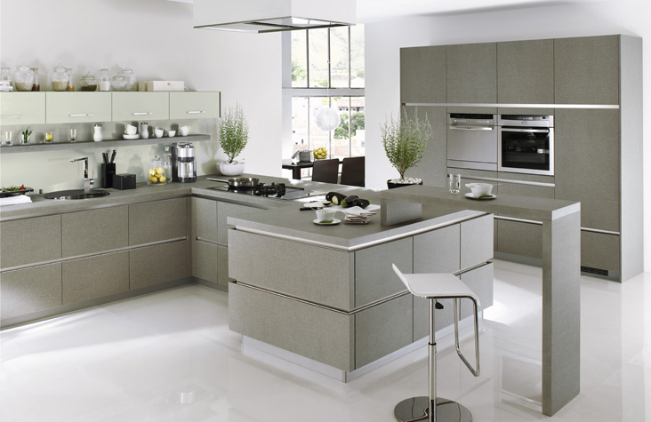 Ed dekory kuchy sk studio elektro o za - Cocinas modernas grises ...